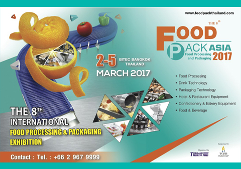 Thailand Industrial Fair and Food Pack Asia 2017